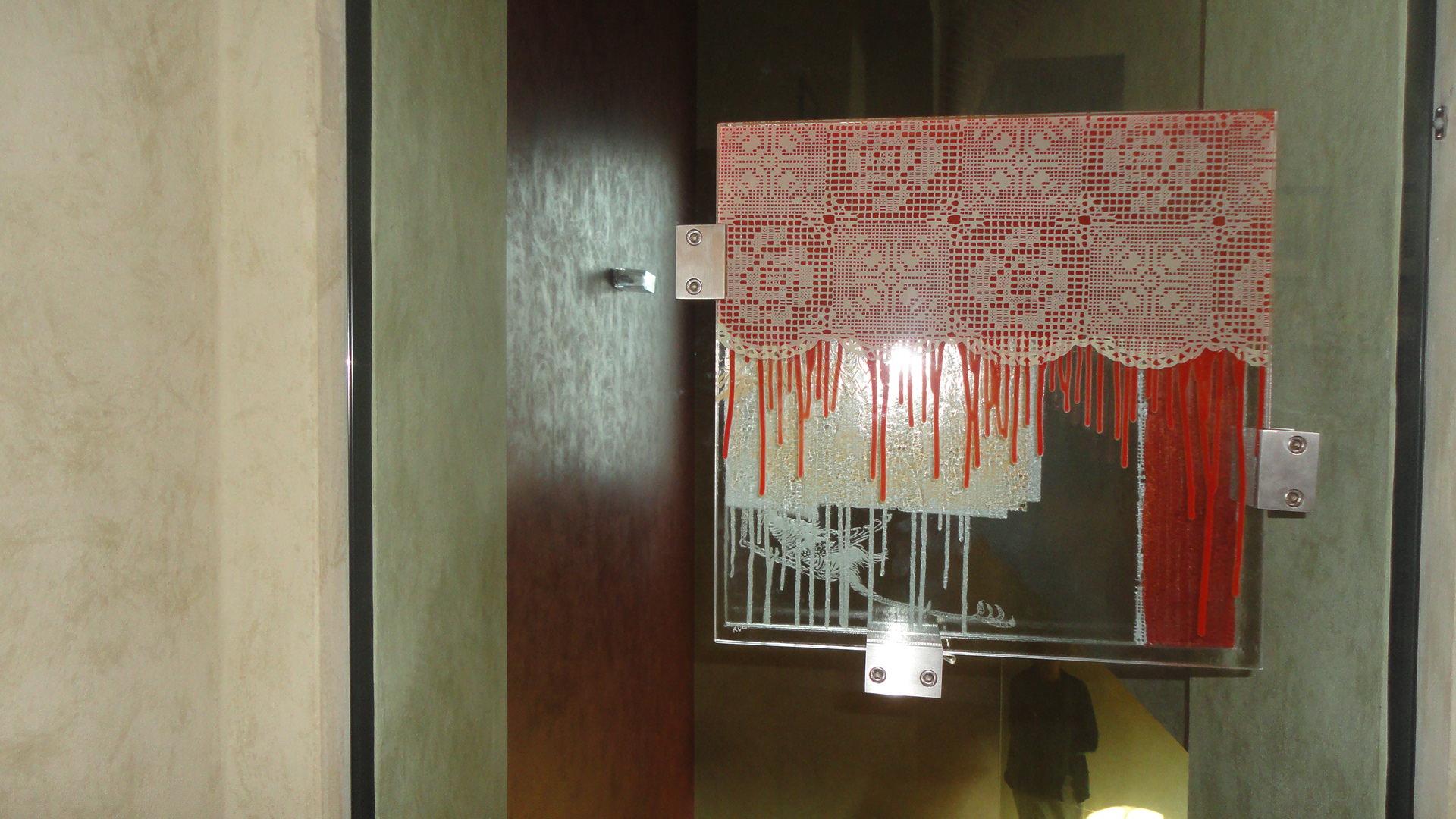 """Particolare """"Maniglia porta in vetro"""""""