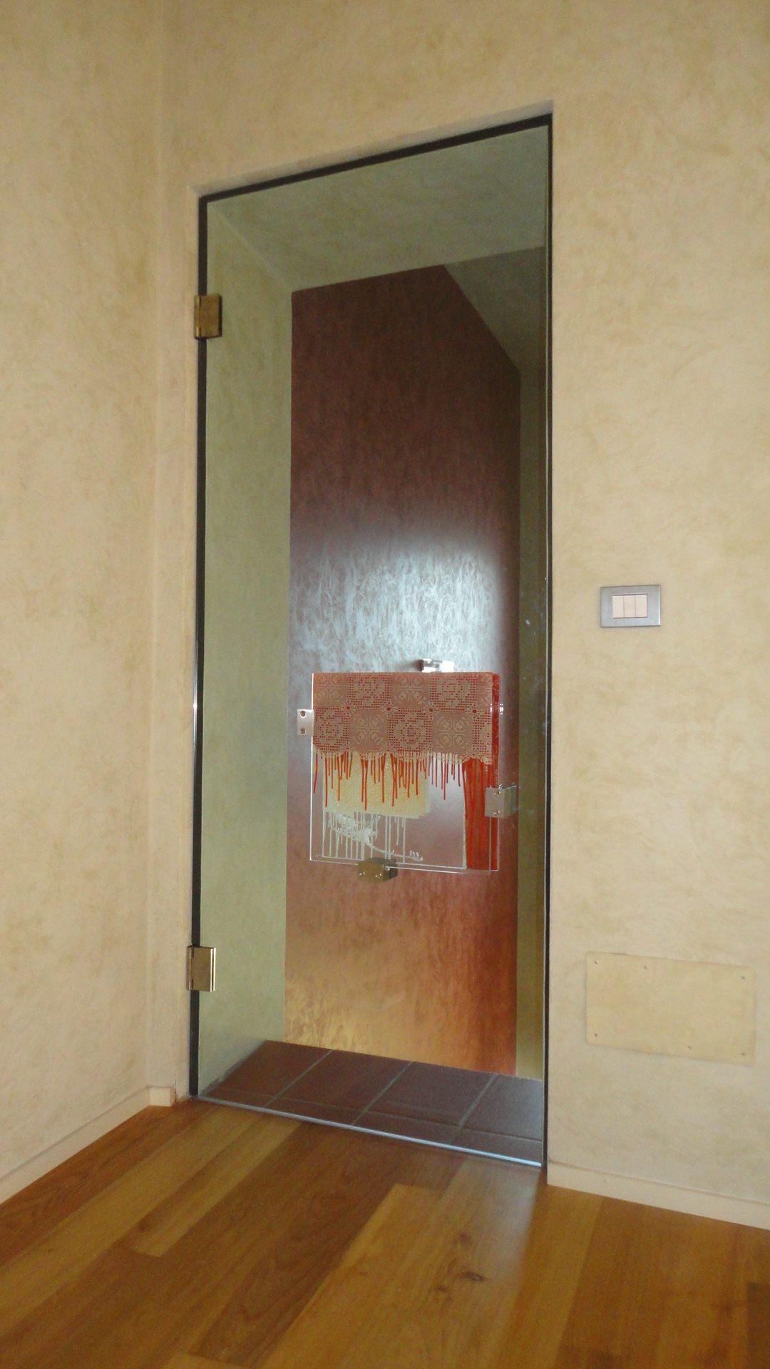 Maniglia per porta in vetro