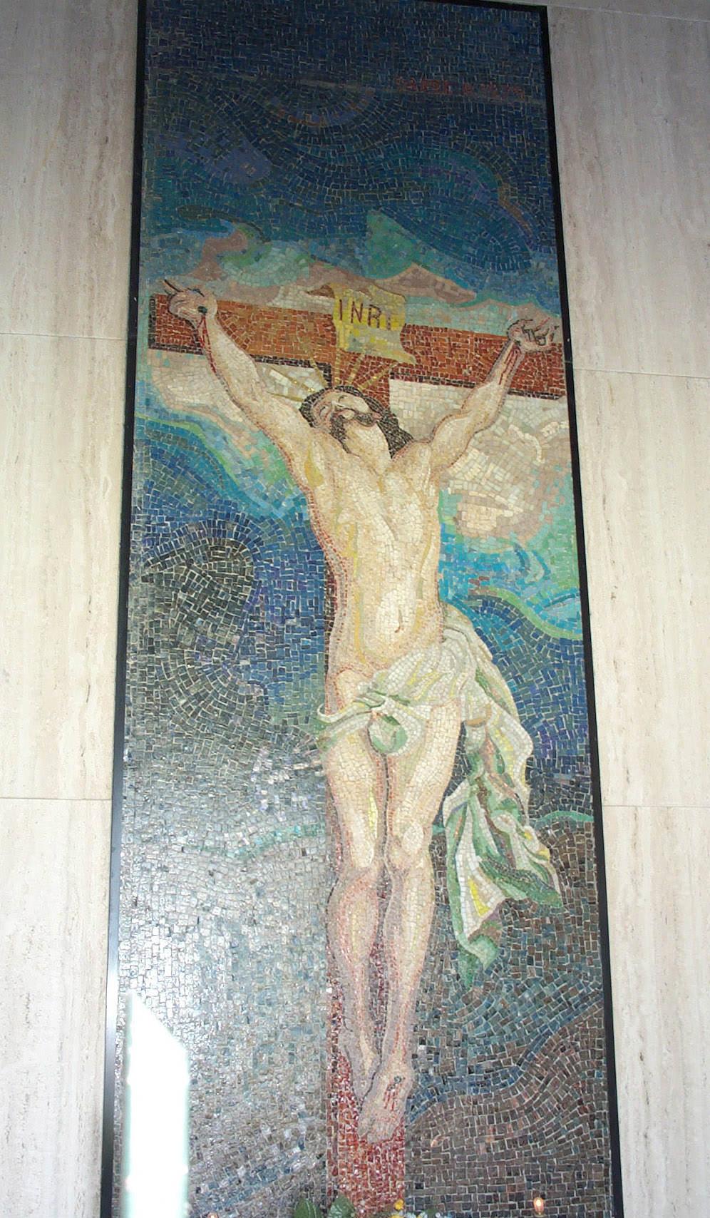 "Mosaico ""Crocefissione"""