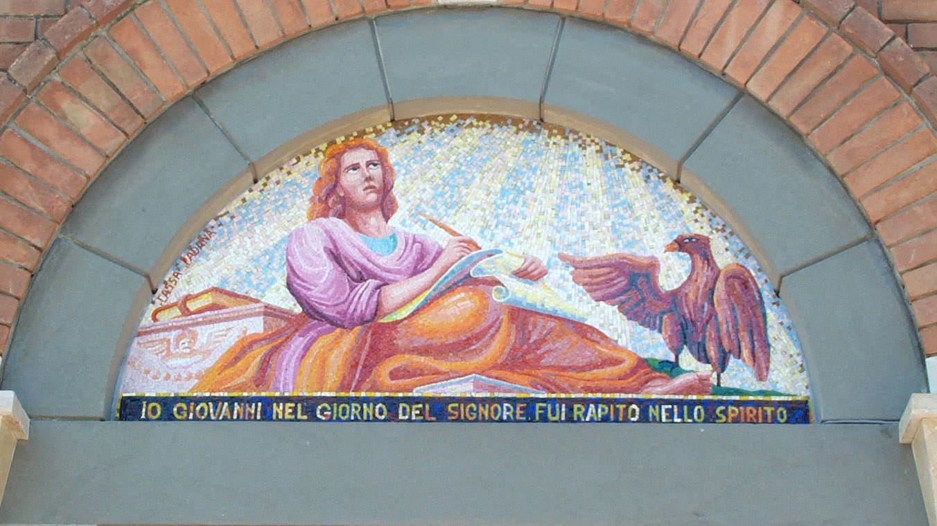 """Mosaico per chiesa """"S. Giovanni"""""""