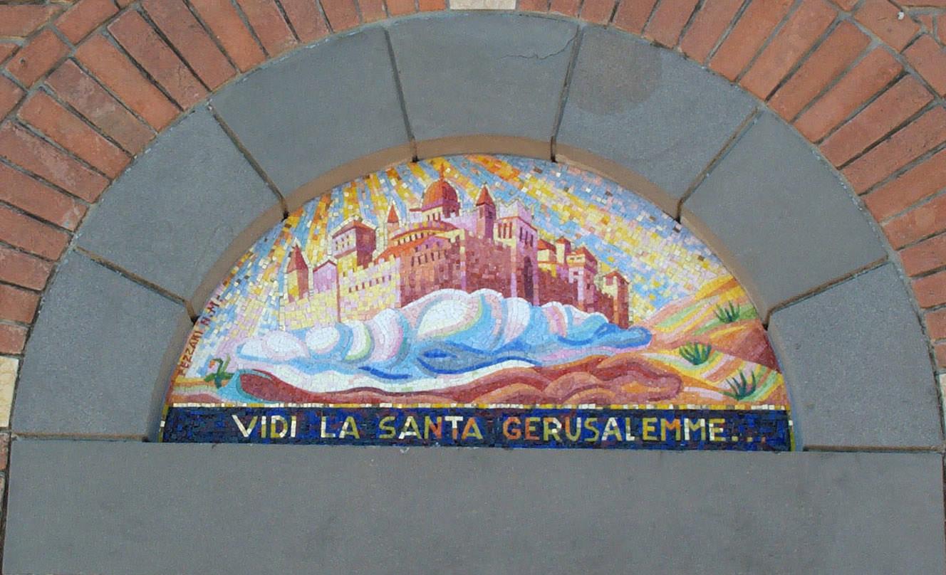 "Mosaico per chiesa ""Santa Gerusalemme"""