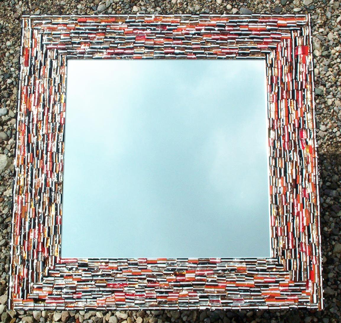 specchio -mosaico- cm 60x60
