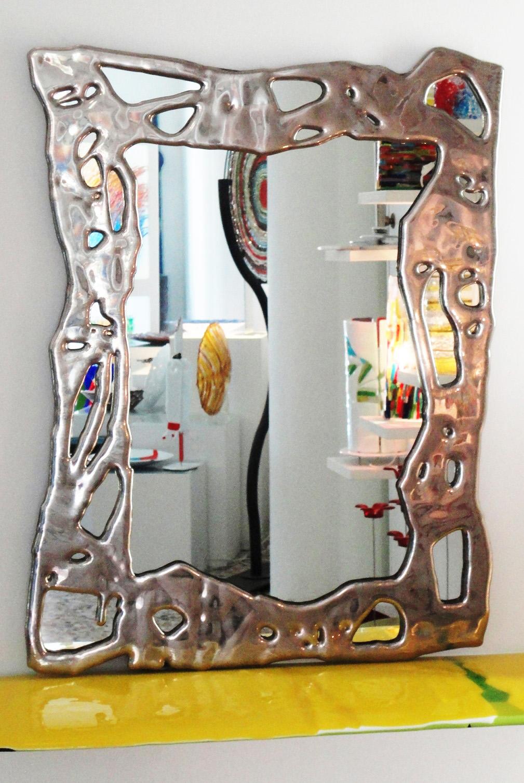 specchio -platino- cm 60x80