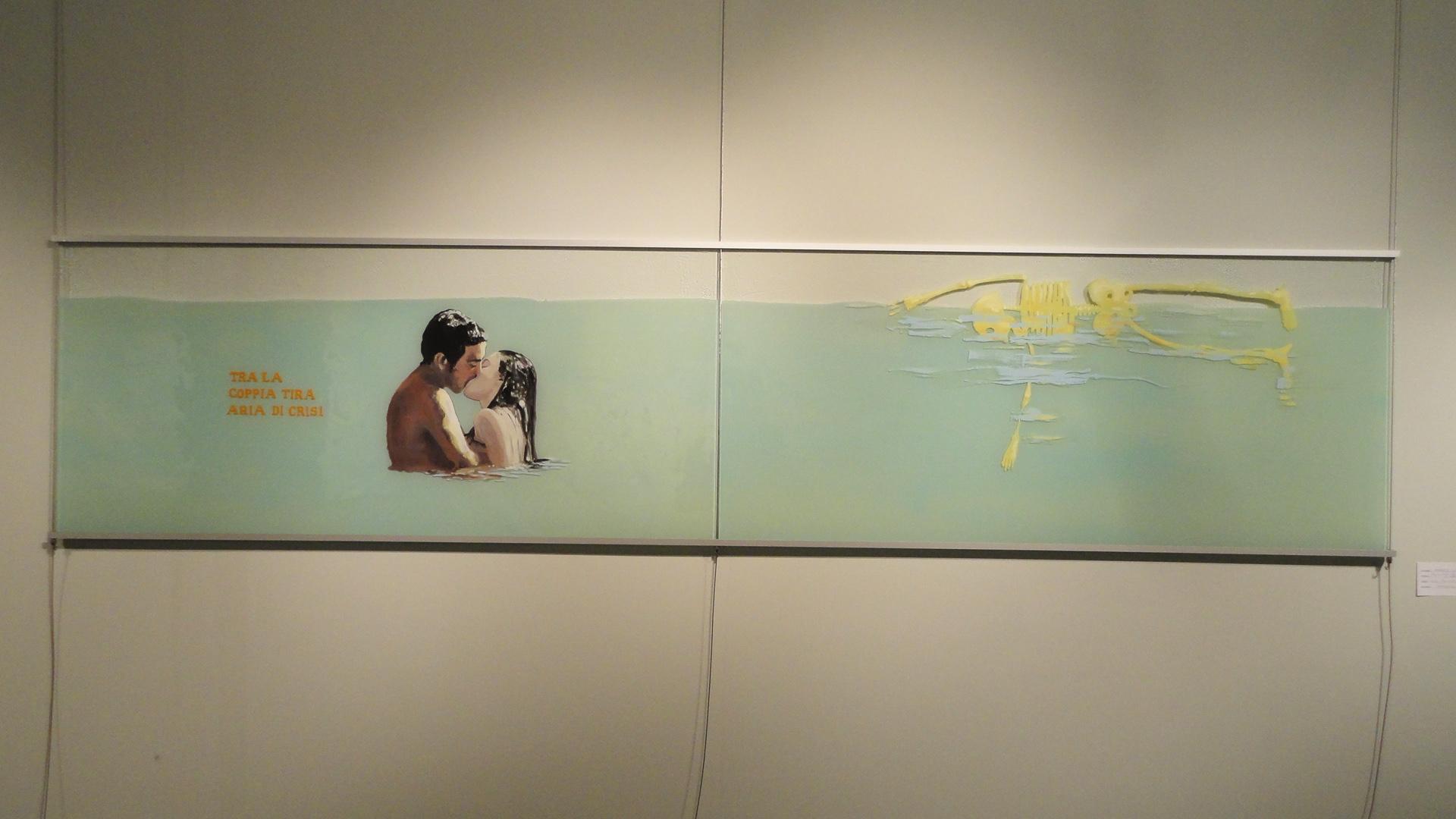"""""""Tra la coppia tira aria di crisi"""" 2011"""