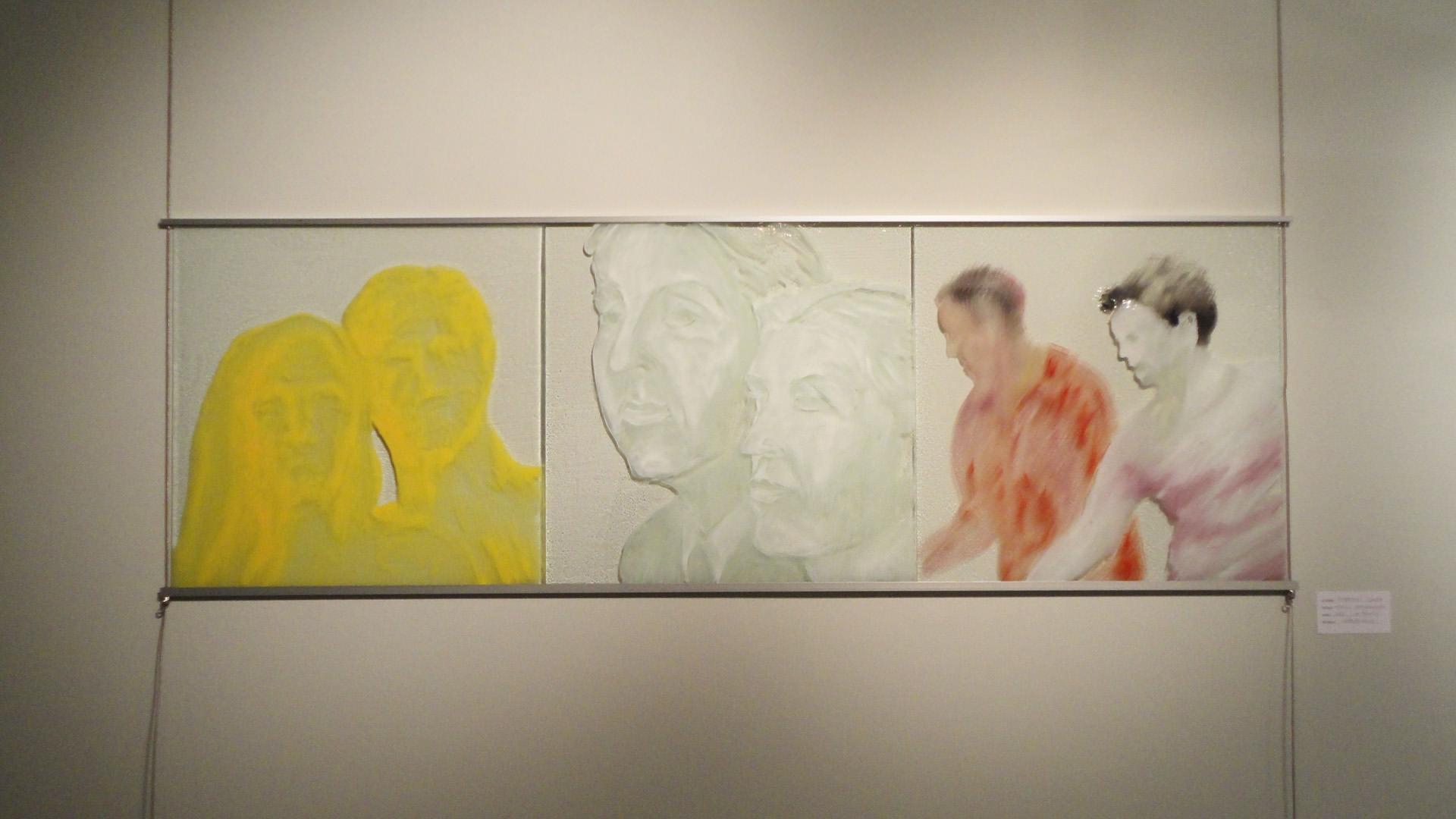 """""""Trittico evanescente"""" 2007"""